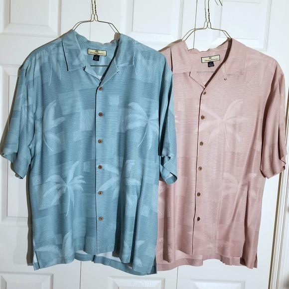 Tommy Bahama 100/% Silk Mens Hawaiian Camp Shirt Sizes XL XXL many colors